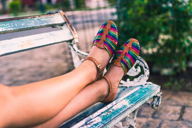 sapatos baixos