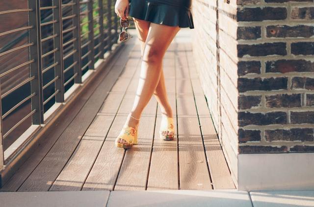 calçados tendência