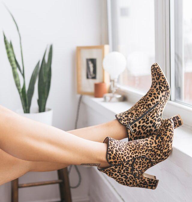 sapatos estampados